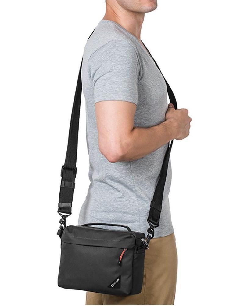 Pacsafe Camsafe LX4 - Anti-Theft Compact Camera Bag - Black
