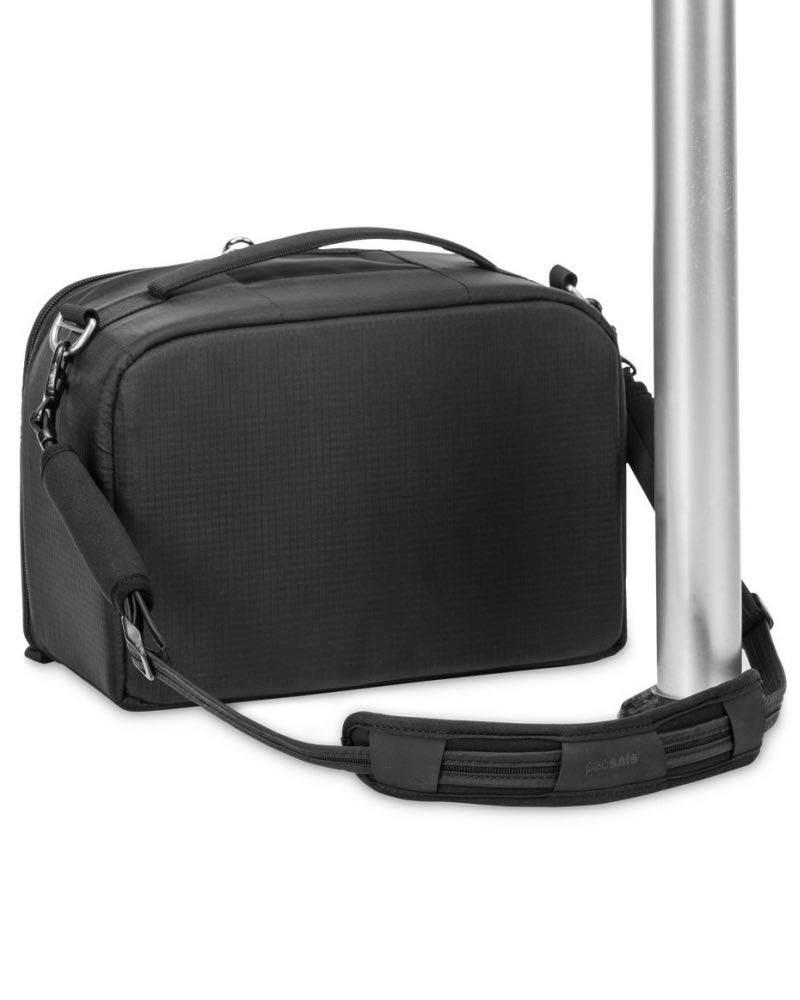 4fde0a88e2b ... Pacsafe Carrysafe 100 GII Anti-theft Camera Strap - Black - PS15261100  ...