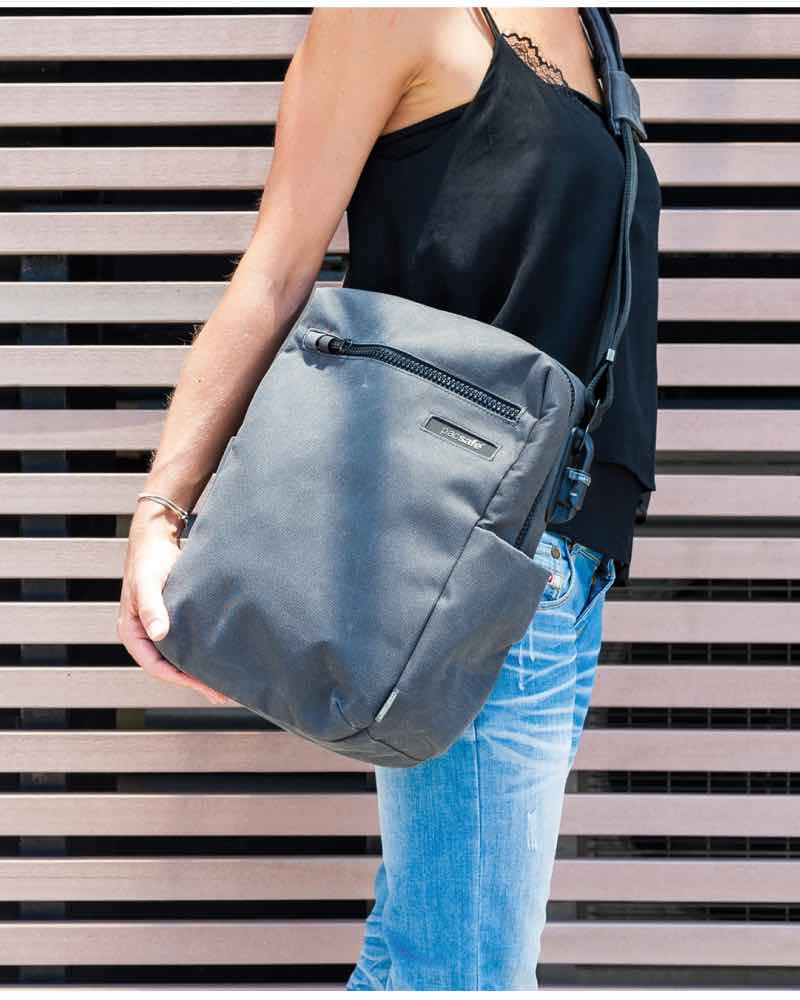 Pacsafe Intasafe Crossbody Anti Theft 10 Inch Tablet Bag