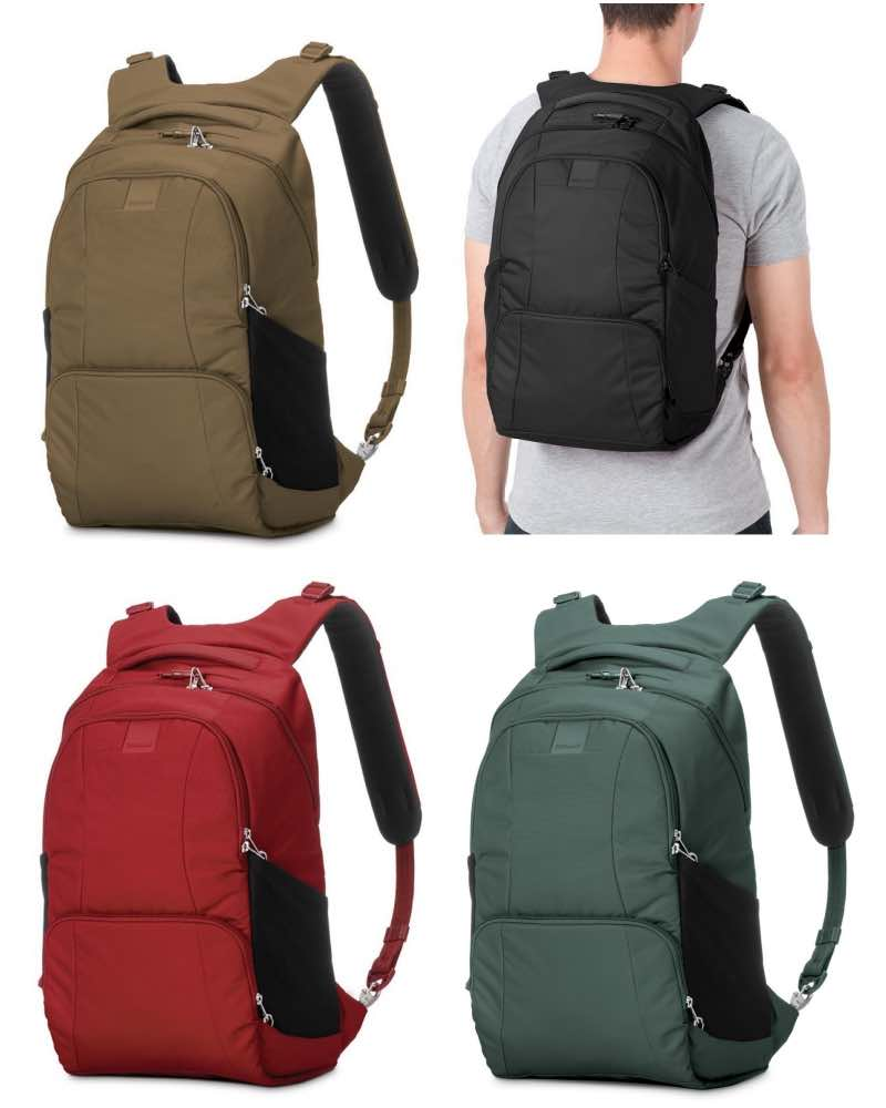 Pacsafe Metrosafe Ls450 Anti Theft 25l Backpack By
