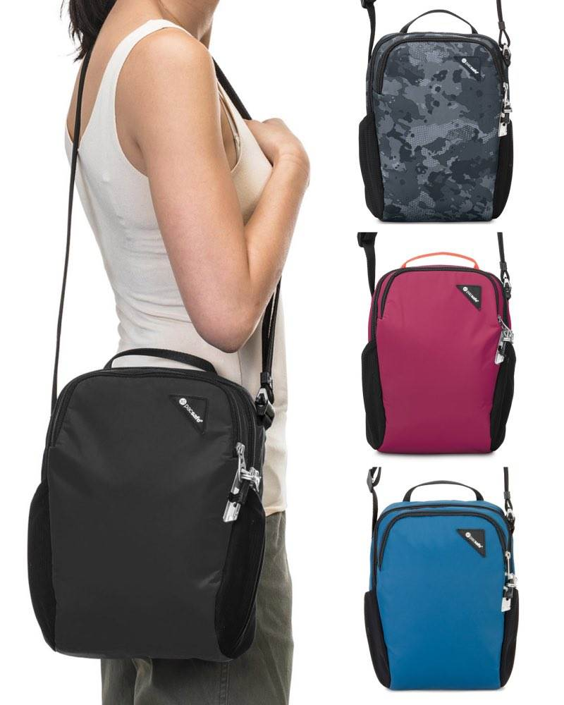 Pacsafe Vibe 200 Anti Theft Compact Travel Bag Eclipse Bags