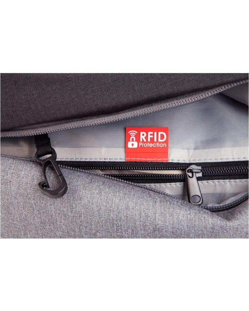 1d287c41c80f ... bag in one step  Key strap holder and RFID blocking pocket in front  pocket  Paklite Limelite 38 cm Overnight Carry ...