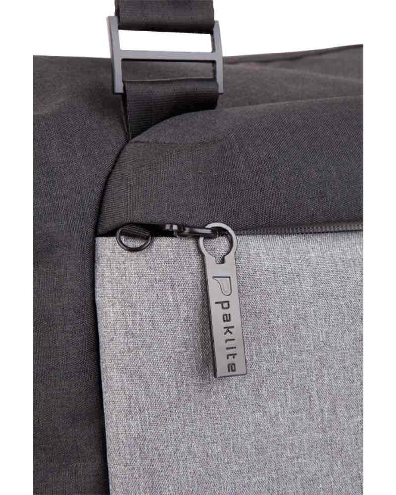 5a8925bb9a00 ... Paklite Limelite 38 cm Overnight Carry Bag with RFID Pocket - Black    Grey - 7424.17 ...