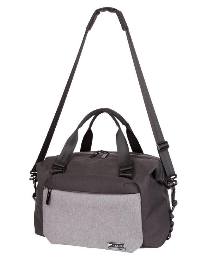 fb6bb48304ef ... Paklite Limelite 38 cm Overnight Carry Bag with RFID Pocket - Black    Grey ...
