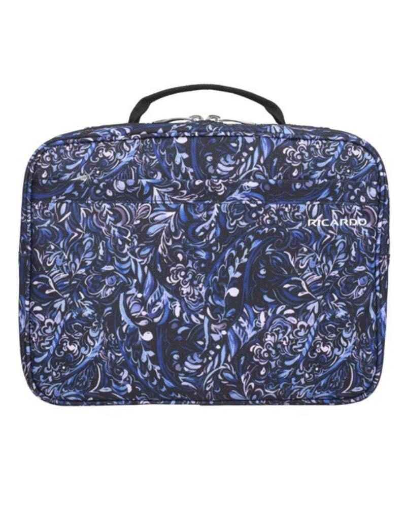 030008f252 ... Ricardo Essentials 2.0 Deluxe Travel Organiser - Hanging Toiletry Bag -  Blue Twist