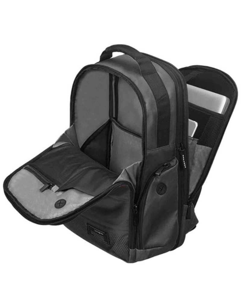 6ea7d23e55 ... Rear compartment opens wide and features a tablet pocket and laptop  pocket to fit up to ...