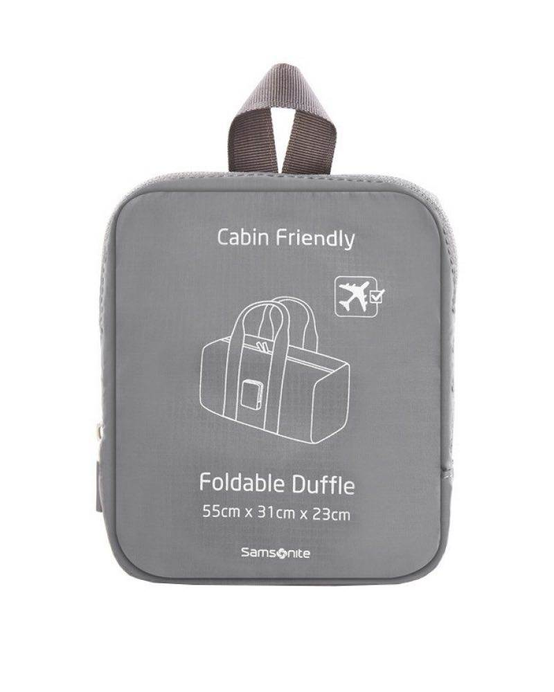 8af360936f47 Samsonite   Foldable Duffle - Grey by Samsonite Luggage (85889-1408)