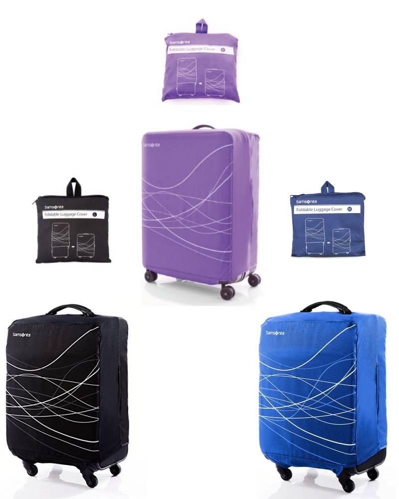 Samsonite Foldable Luggage Cover Available In 4 Sizes