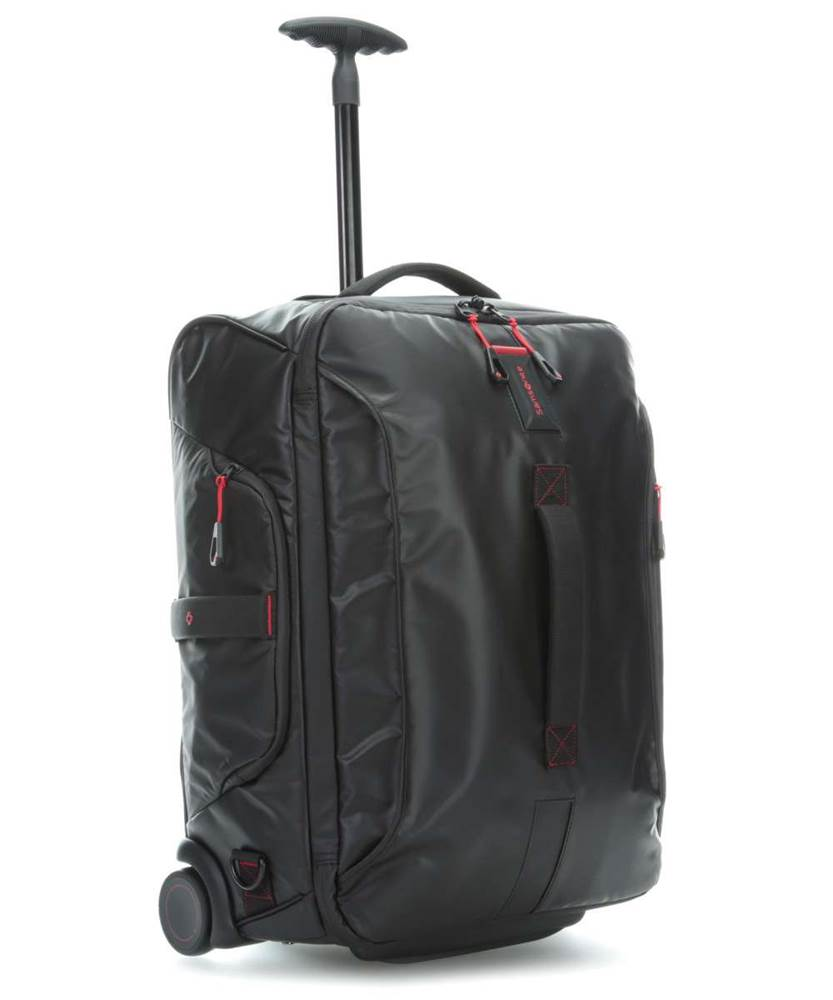 3e77bb1ae83 Compare Products. Samsonite Paradiver Light 55cm Wheeled Backpack - Black.  Paradiver Light 55cm Wheeled Backpack - Black