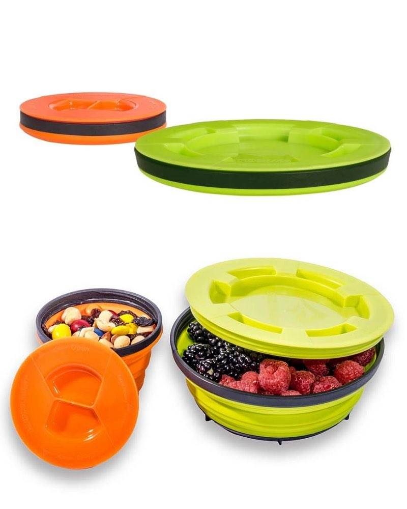 Sea To Summit X Seal And Go Set Small Collapsible Food Container
