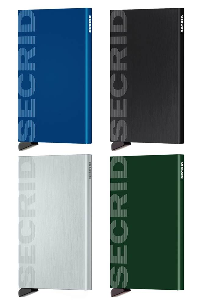 6f8b3d87523 Secrid Cardprotector RFID Compact Card Wallet - Laser Logo Series by Secrid  (CARDPROTECT-LASER-LOGO)