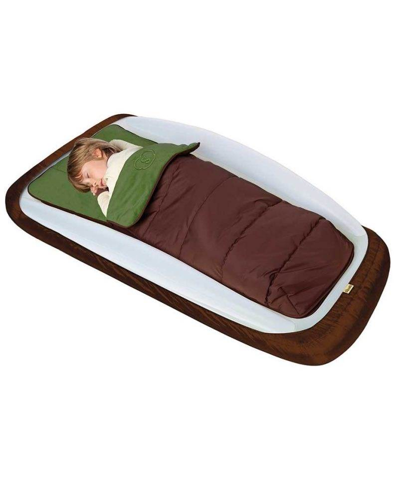 Outdoor Toddler Travel Bed Bundle Includes Sleeping Bag Maxaire Foot Pump And Protector