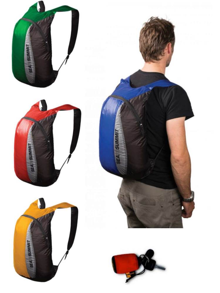 Sea to Summit Ultra-Sil Packable   Collapsable Backpack   Pocket ... 9efbb4059