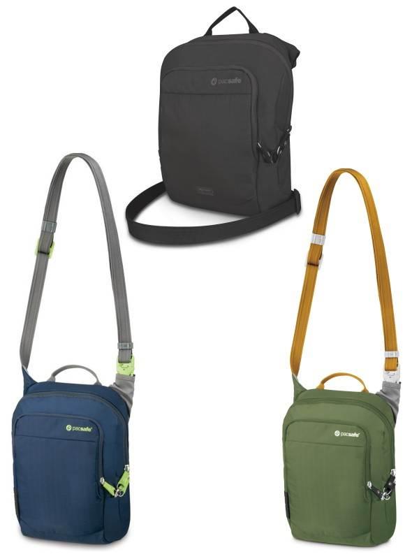 Pacsafe Venturesafe 200 GII Black Anti Theft Travel Bag