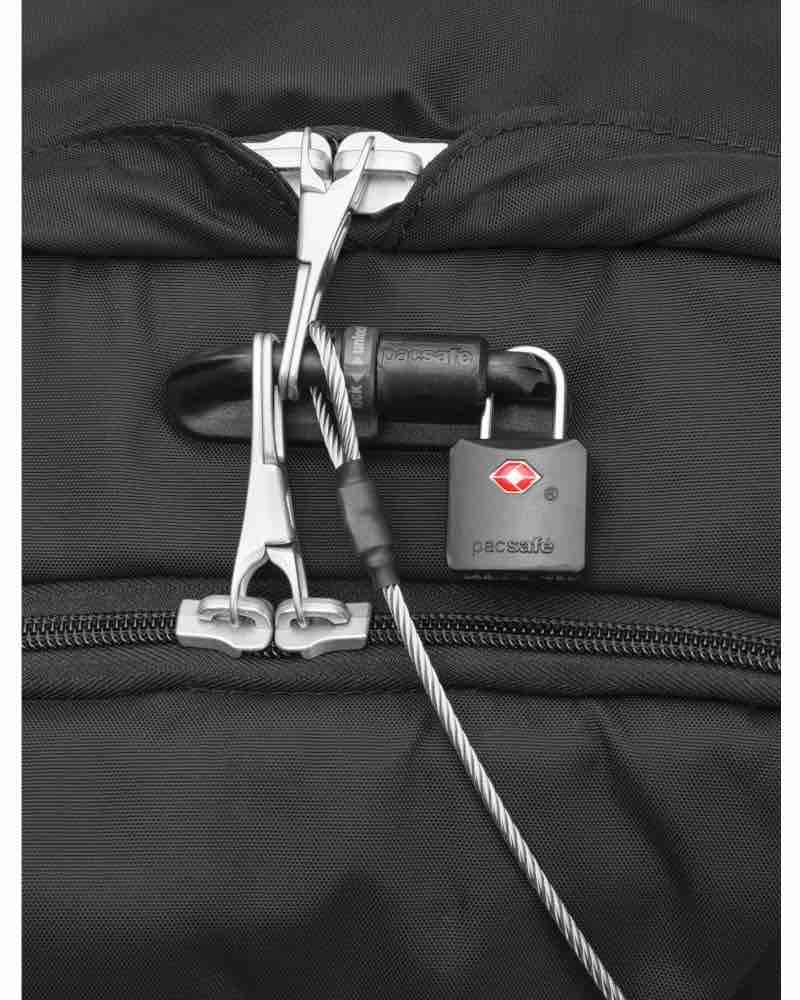8474507ff7 ... Roobar deluxe locking system  Easy access to the zipper pocket on the  front  Pacsafe Venturesafe EXP45 Anti-Theft 45L Carry-On Travel ...