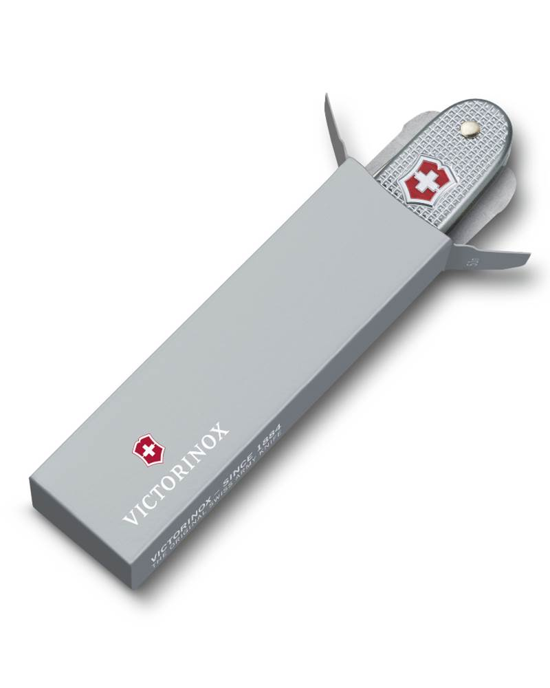 Victorinox Pioneer Swiss Army Knife Silver Alox By