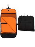 68d29b9e368b Victorinox WT Deluxe Garment Sleeve - Slim Garment Bag with Carrying Strap  - Black Werks Traveller