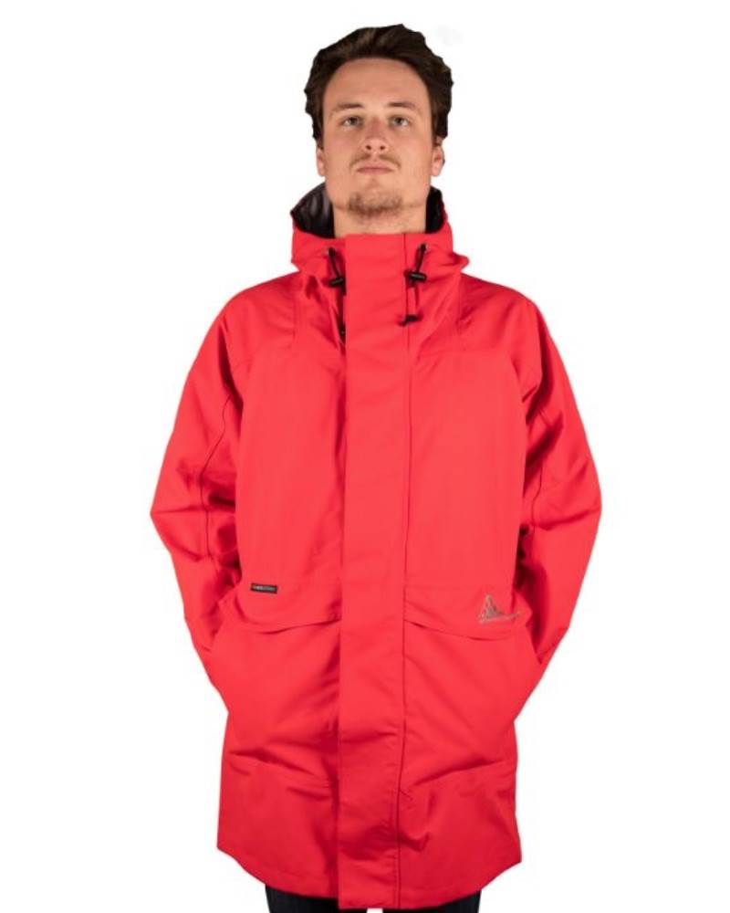 Wilderness Equipment : Deluge Rain Jacket - Red