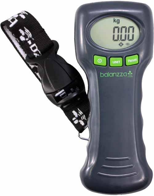 balanzza digital luggage scale calibration instructions