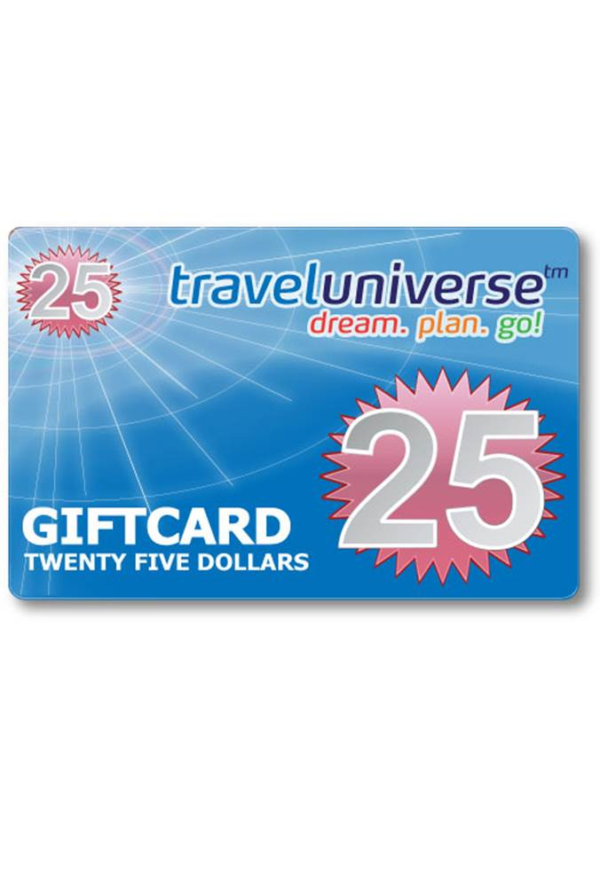 25 Gift Voucher Travel Universe